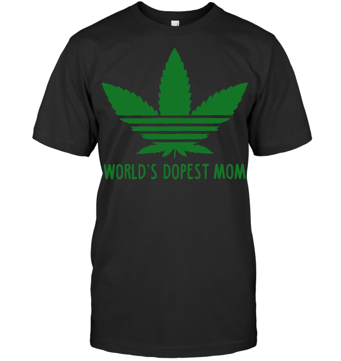 Weed World's Dopest Mom T Shirt