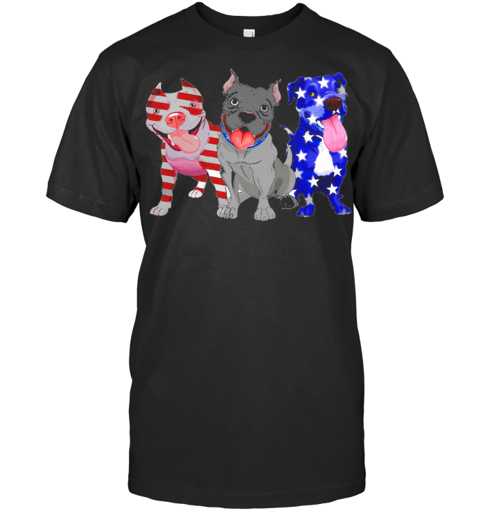 Pitbull Patriot 4th Of July Indepence Day T Shirt