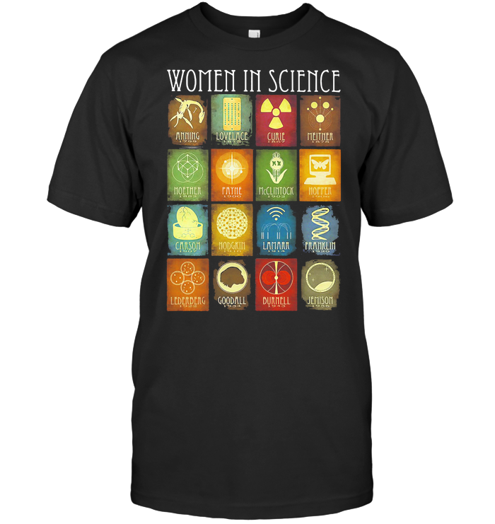 Women In Science T Shirt
