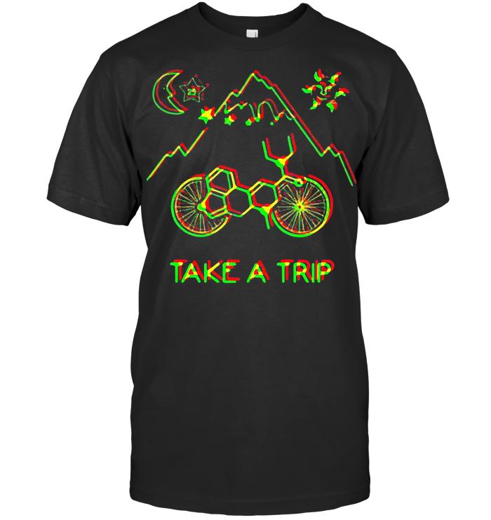 Bicycle Day 1943 Take A Trip T Shirt