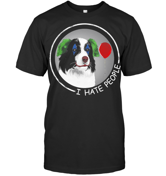 I Hate People Companion Dog T Shirt
