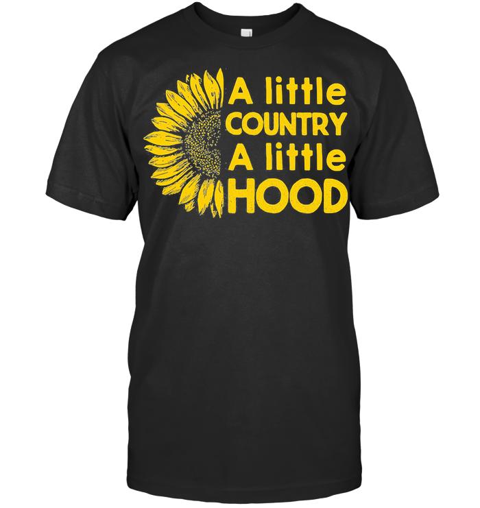 A Little Country A Little Hood Sunflower T Shirt