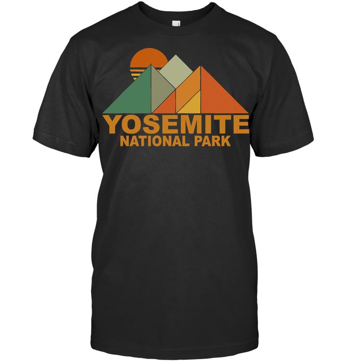 Yosemite National Park Vintage T Shirt
