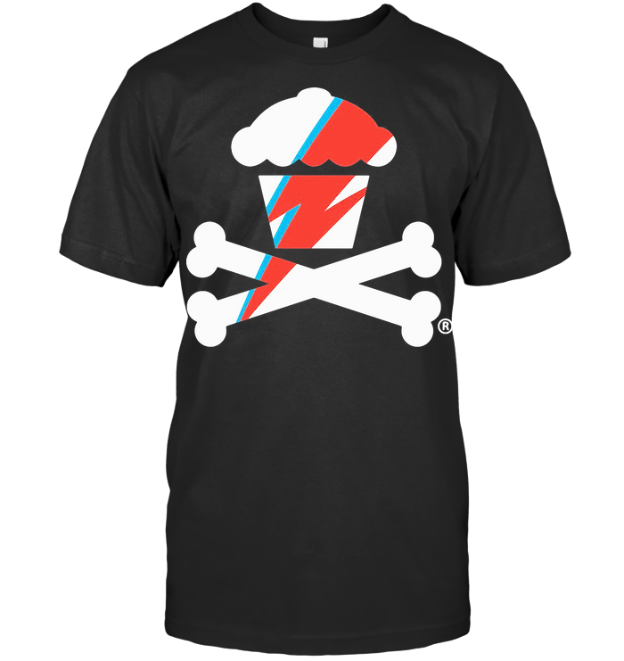 Official Lightning Bolt Crossbones T Shirt
