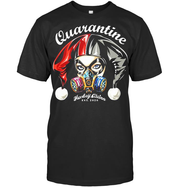 Quarantine Face Respirator Mask Est 2020 T Shirt Unisex