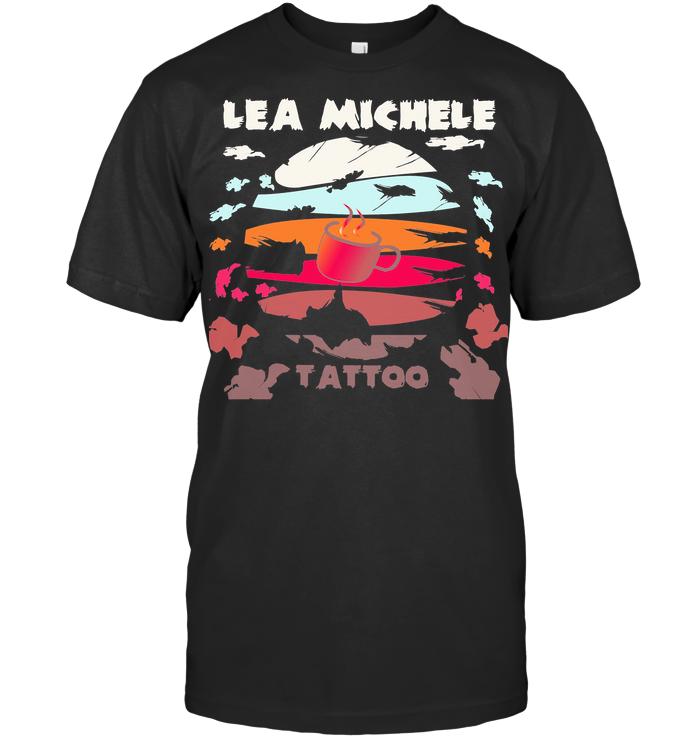 Coffee Lea Michele Tattoo Vintage T Shirt