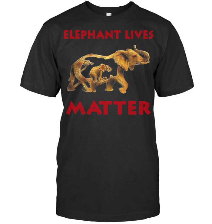 Elephant Lives Matter T Shirt