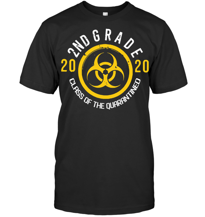 Biohazard 2Nd Grade 2020 Class Of The Quarantined T Shirt