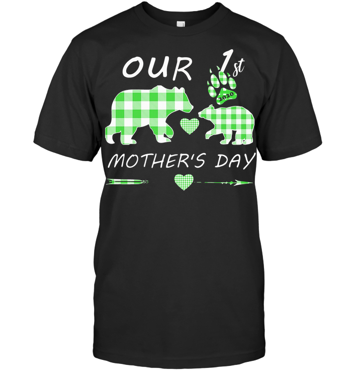 Mother Bear Our 1St Mother's Day T Shirt Classic Men's T-shirt