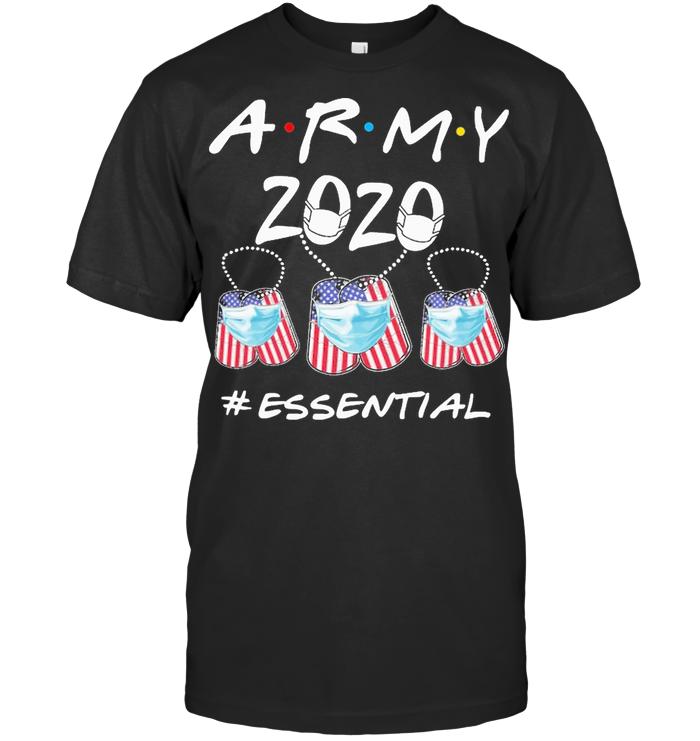 American Army 2020 Mask Essential T Shirt