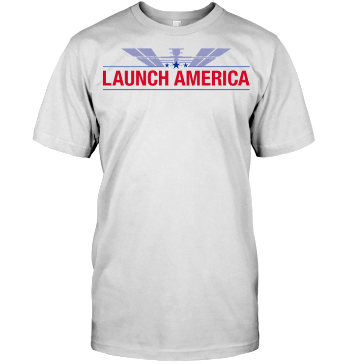 Launch America Astronauts Into Space T Shirt Hoodie