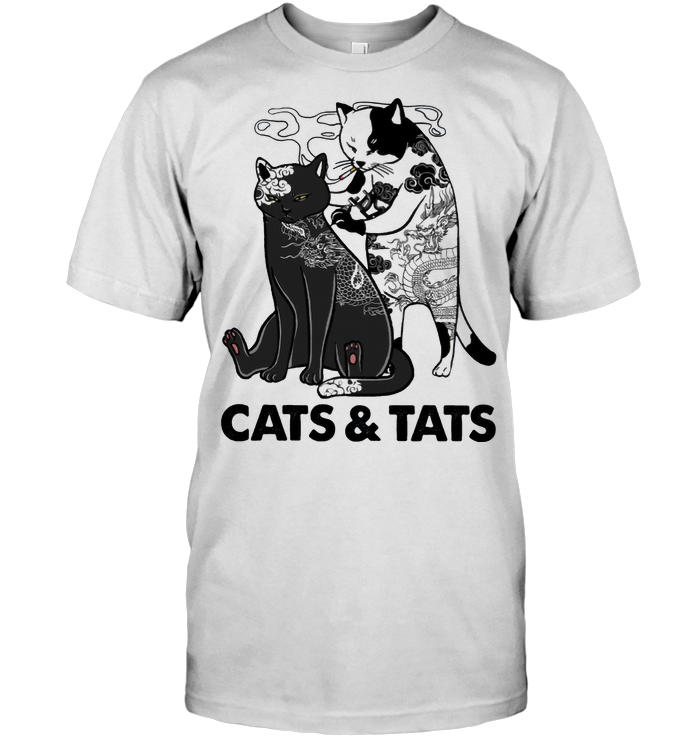 Cats And Tats Tattoo T Shirt - from wordwidewishes.com 1
