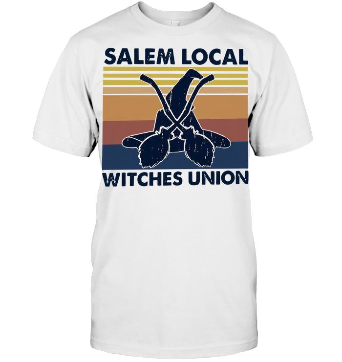 Salem Local Witches Union Vintage Halloween T Shirt