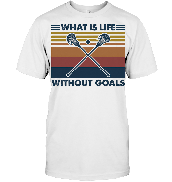 Disc Golf What Is Life Without Goals Vintage Retro T Shirt
