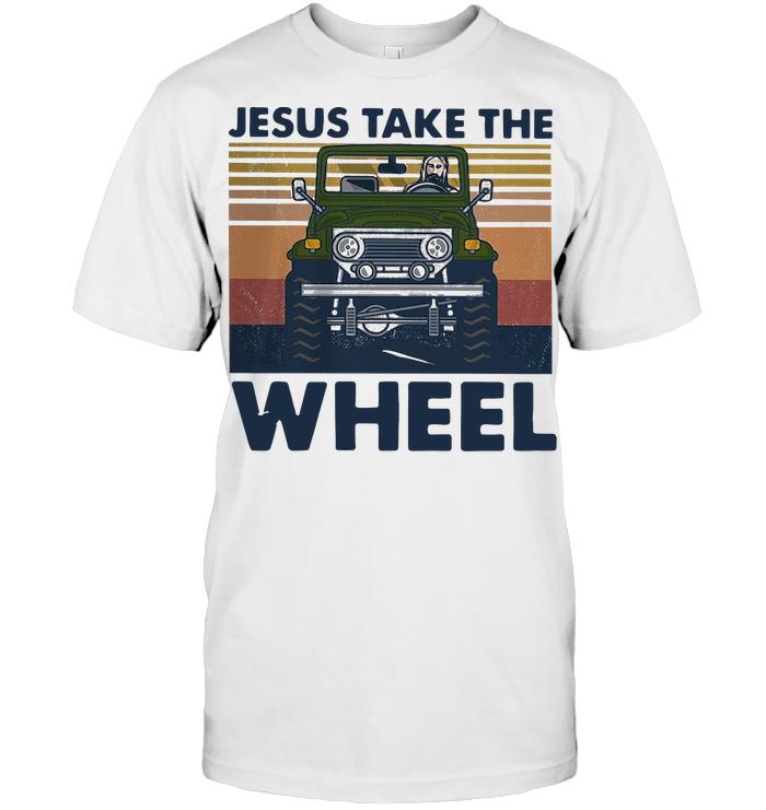 Jesus Take The Wheel Vintage T Shirt - from btsshirts.info 1