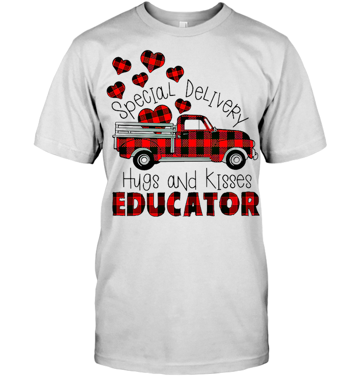 Special Delivery Hug And Kisses Educator Life Valentine T Shirt - from nineliveapparel.info 1