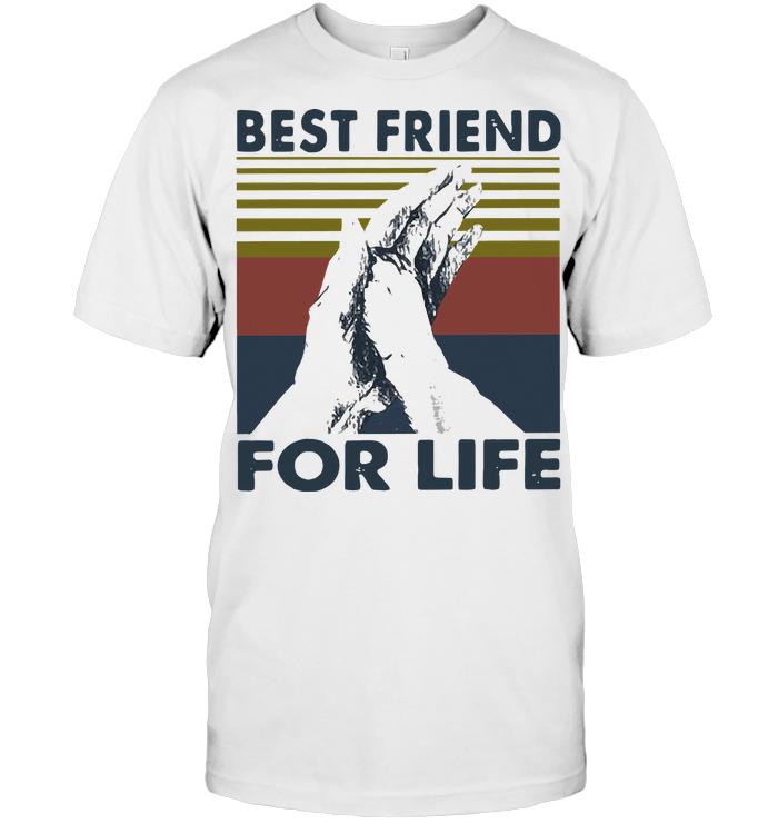 High Five Dog Best Friend For Life Vintage T Shirt