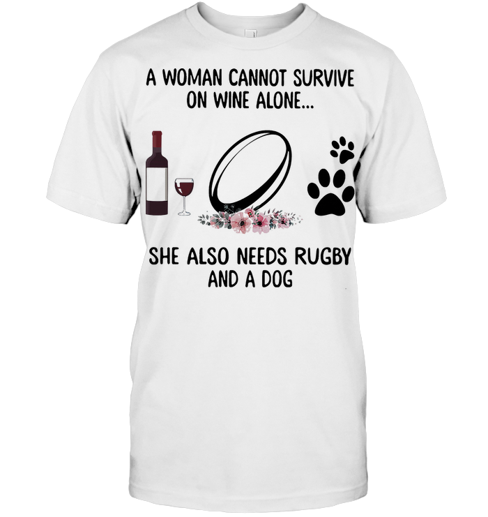 A Man Cannot Survive On Beer Alone He Also Needs Soccer And A Dog Unisex