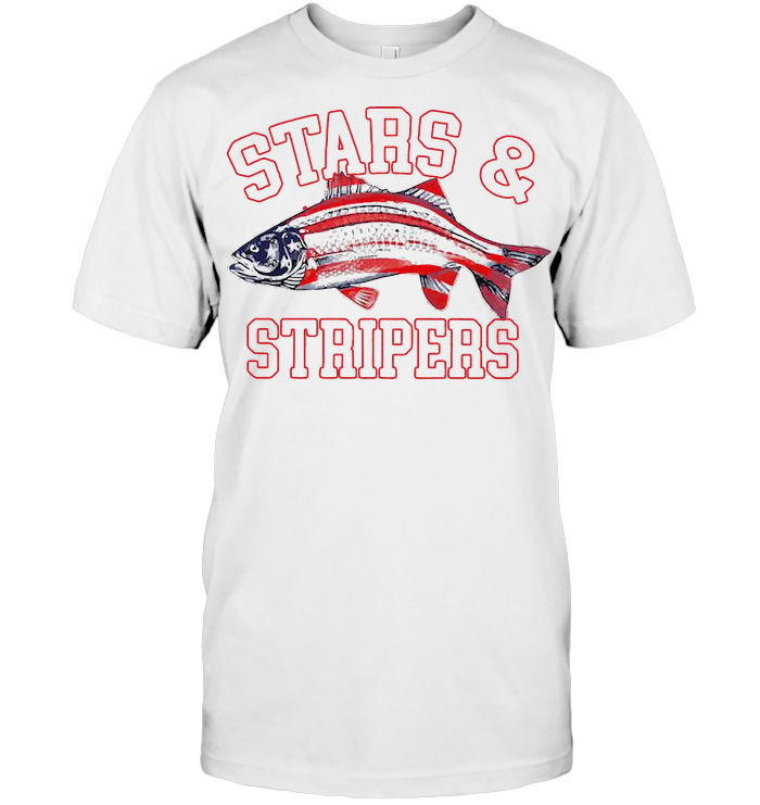 Stars And Strippers Fishing USA T Shirt