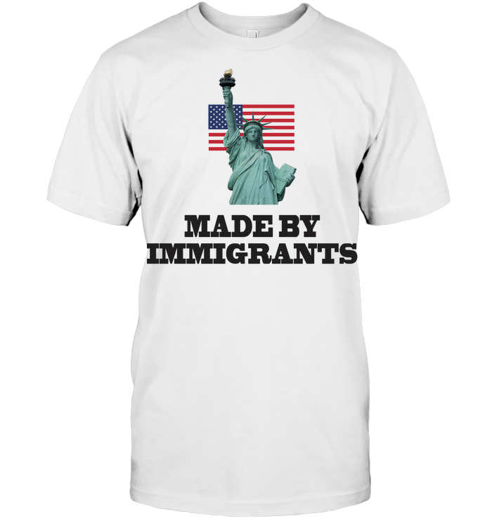 USA Made By Immigrants T Shirt