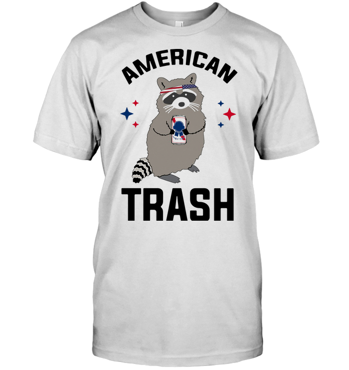 Racoon American Trash Indepence Day T Shirt