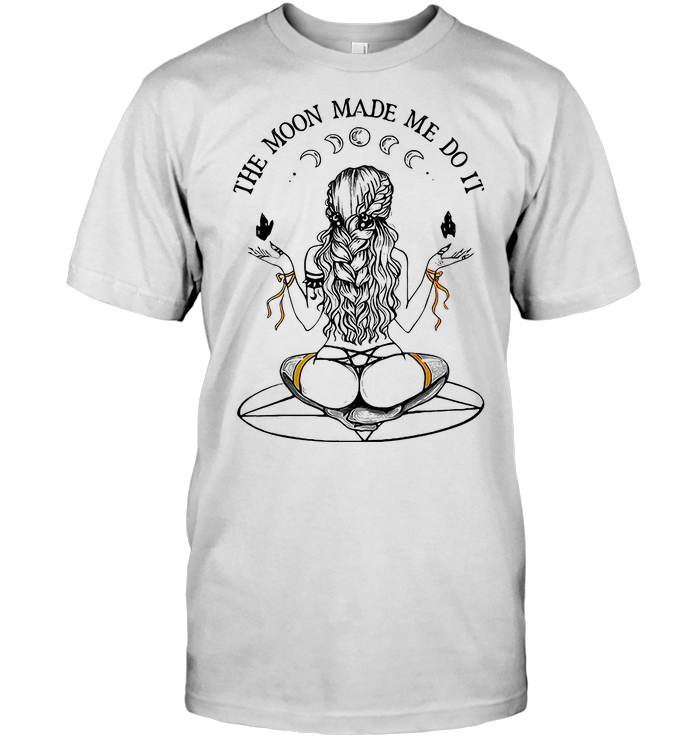 The Moon Make Me Do It Witch T Shirt