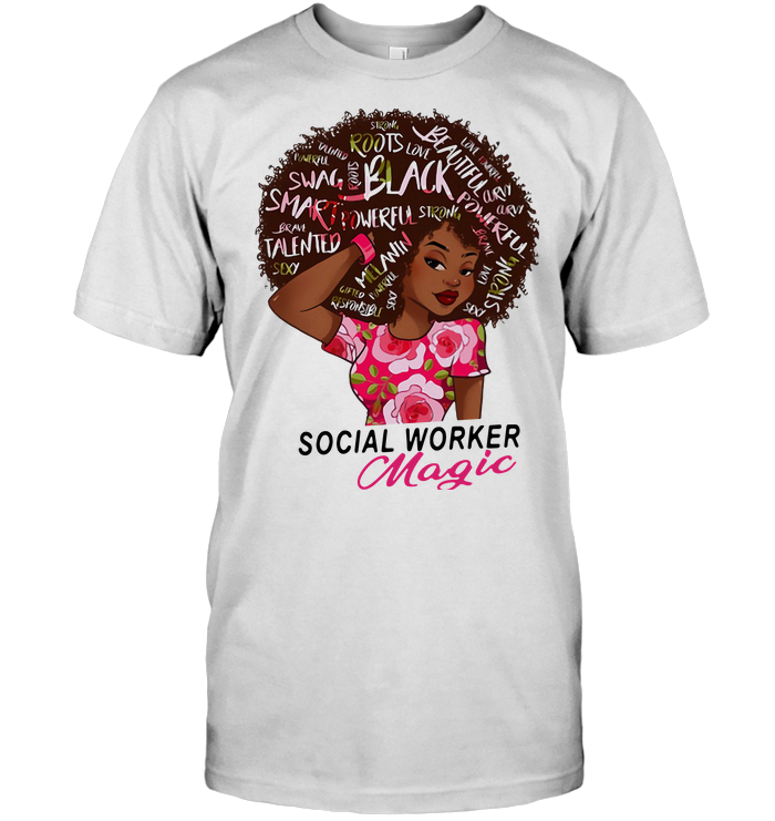 Social Worker Magic Girl T Shirt