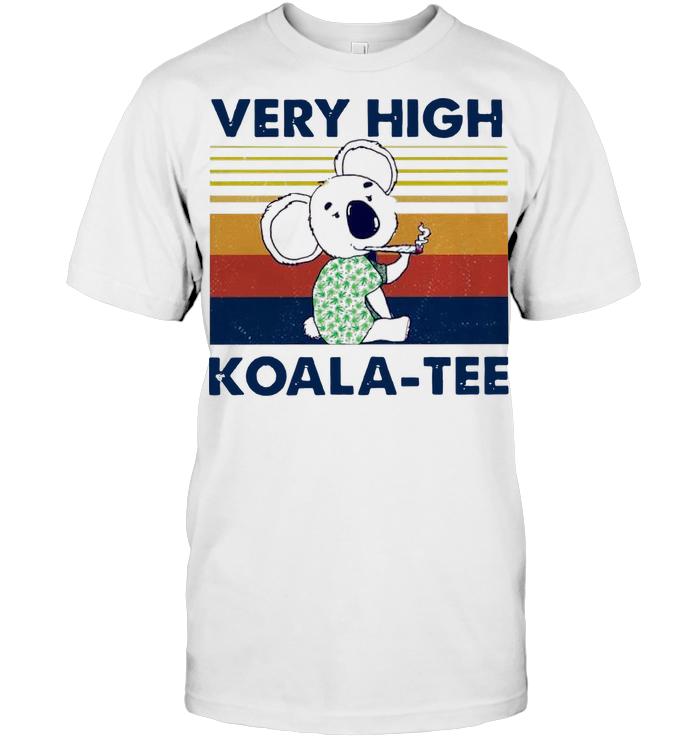 Very High Koala Tee Vintage T Shirt