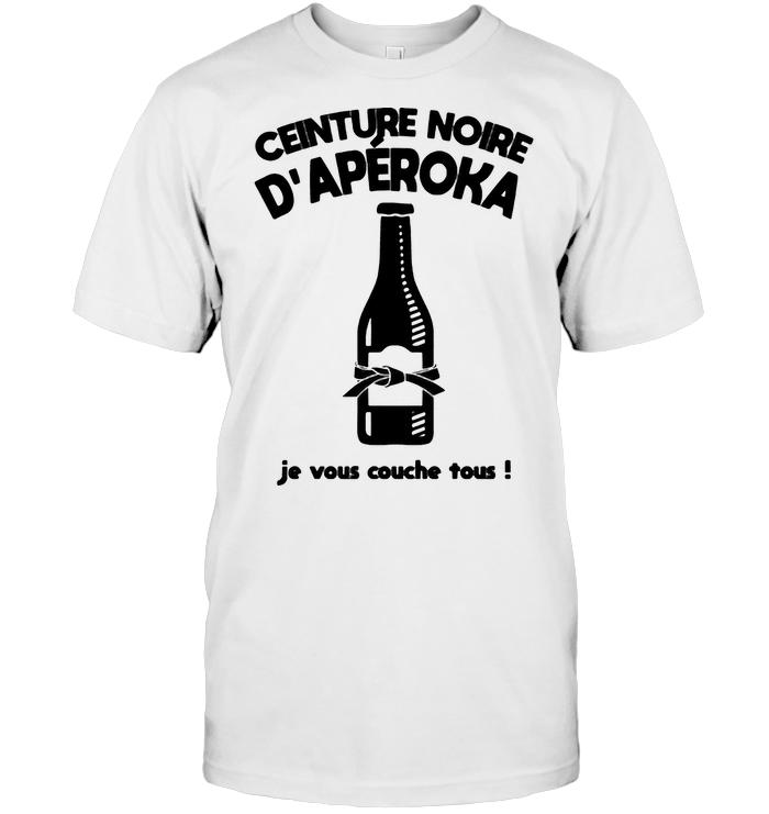 Ceinture Noike D'aperoka Je Vous Couche Tous T Shirt