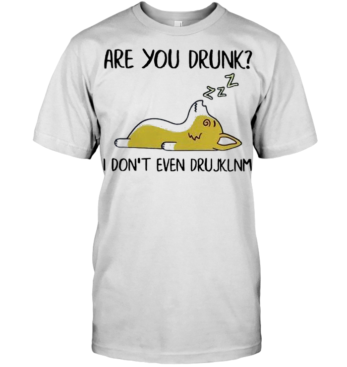 Dachshund Are You Drunk I Don't Even Drujklnm T Shirt